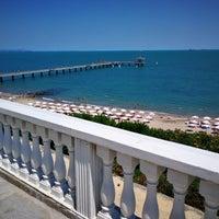 Photo taken at Южен плаж Бургас (South Beach) by Erki P. on 7/8/2017