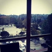 Photo taken at Πλατεία Χημείου by Katerina M. on 4/2/2014