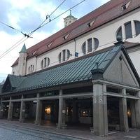 Photo taken at H Moritzplatz Bahnsteig B by ぱいん on 9/3/2017