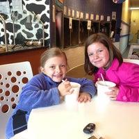 Photo taken at Cowlicks Yogurt & Floats by Saralee P. on 5/6/2013