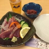 Photo taken at うをさ by yoichi y. on 9/18/2015