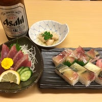 Photo taken at うをさ by yoichi y. on 4/26/2014