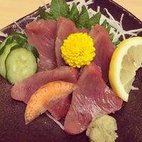 Photo taken at うをさ by yoichi y. on 4/12/2014
