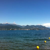Photo taken at Lungolago di Stresa by Claudio D. on 8/2/2015
