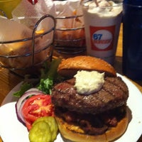 Photo taken at 67 Burger by Cesar R. on 1/19/2013