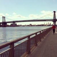 Photo taken at East River Park by Cesar R. on 3/29/2013