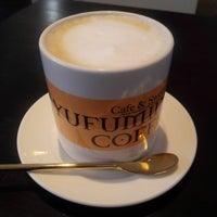 Photo taken at Yufumidoori Coffee by Narudom R. on 12/28/2015