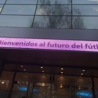 Photo taken at Oficinas de Presidencia Estadio Santiago Bernabéu by Alvaro P. on 11/18/2014