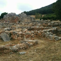 Photo taken at Nuraghe Palmavera by Elena S. on 5/26/2015
