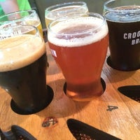 Photo taken at Crooked Run Brewing by Donnie H. on 10/14/2017