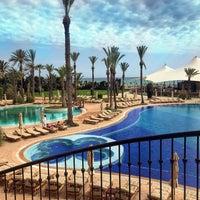 Photo taken at Mövenpick Resort & Marine Spa Sousse by Екатерина Н. on 5/17/2018
