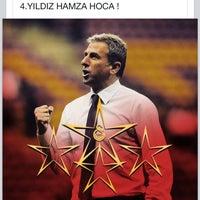 Photo taken at Galatasaray Şampiyonluk Kutlamaları by Çerkez Ç. on 5/25/2015
