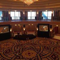 Photo taken at Burj Al Arab Al Falak Ballroom Top Floor by Patricia faye A. on 2/21/2016