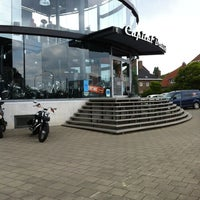 Photo taken at Harley-Davidson Capital Brussels by Rik W. on 5/14/2014
