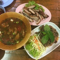 Photo taken at ส้มตำฝากมารุม(สาขา2) by vy C. on 8/21/2015