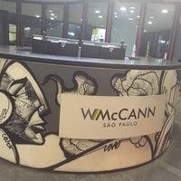 Photo taken at WMcCann by Luciane C. on 7/14/2016