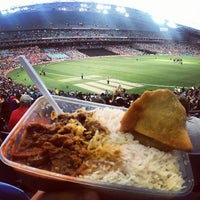 Photo taken at ANZ Stadium by Kevin P. on 1/26/2013