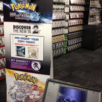 Photo taken at EB Games by Franco T. on 9/29/2012