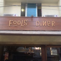 Photo taken at Fools' Diner by Anna D. on 3/8/2014