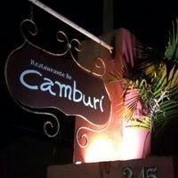 Photo taken at Restaurante Camburi by Miguel N. P. on 8/28/2014