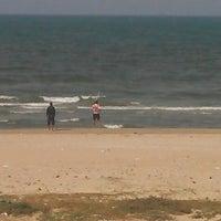 Photo taken at Plage Hammam Chatt by SKANDER B. on 5/4/2013