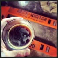 Photo taken at Brick & Mortar Coffee by Jonathan P. on 3/5/2014