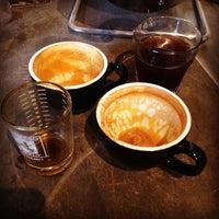 Photo taken at Brick & Mortar Coffee by Jonathan P. on 2/21/2014