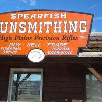 Photo taken at Spearfish Gunsmithing by Dusty G. on 2/18/2014