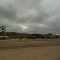 Photo taken at Strand Bergen aan Zee by NL t. on 5/25/2013