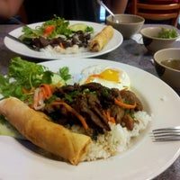 Photo taken at Phở Saigon by Andy W. on 9/26/2012