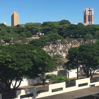 Photo taken at Cemitério Municipal de Maringá by Neto S. on 3/21/2017