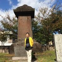 Photo taken at 崇福寺 黒田家墓所 by Yoshiaki on 10/11/2015