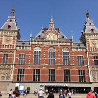Photo taken at Amsterdam Central Railway Station by Roel K. on 6/7/2013
