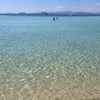 Photo taken at Golfo Aranci by Bruno T. on 7/15/2014