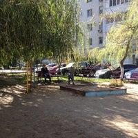 Photo taken at детская площадка на говорова 5 by Даша✨ Б. on 9/30/2014