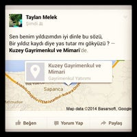 Photo taken at Kuzey Gayrimenkul Cadde Şubesi by Melek T. on 1/8/2014