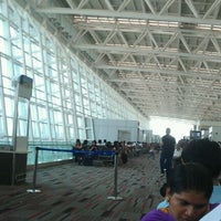 Photo taken at Chennai International Airport (MAA) by Abhijit B. on 4/30/2013
