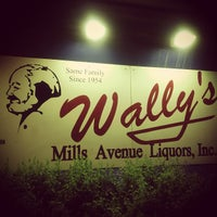 Photo taken at Wally's Mills Avenue Liquors by Erin W. on 5/3/2013