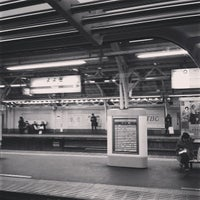Photo taken at Yoyogi Station by warasit a. on 1/22/2013