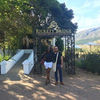 Photo taken at Rickety Bridge Winery by Okhela on 9/19/2016