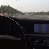 Photo taken at Al Ain -dubai Highway by Rashed M. on 3/15/2014
