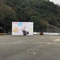 Photo taken at Tai Mei Tuk Water Sports Centre 大美督水上活動中心 by Val W. on 3/19/2017