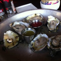 Photo taken at Pearlz Oyster Bar by nemo on 7/25/2013