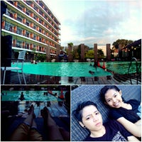 Photo taken at Mesra Hotel Swimming Pool by JeeAbigaiL on 8/8/2014