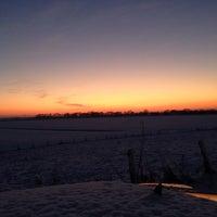 Photo taken at Molen van Goidschalxoord by lieselotte S. on 12/28/2014