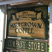 Photo taken at MauiGrown Coffee Company Store by .Jason G. on 10/23/2012