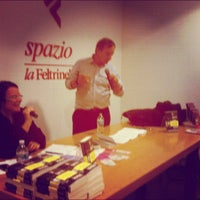 Photo taken at La Feltrinelli by Rodolfo on 11/16/2012