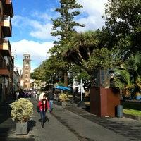 Photo taken at Plaza de la Concepción by Oscar H. on 11/9/2012