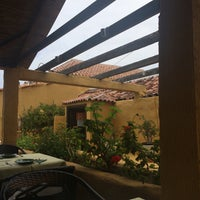 Photo taken at Restaurante La Sabina by Oscar H. on 9/25/2015
