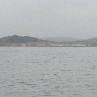 Photo taken at Golfe de Saint-Tropez by Danipointcom on 1/4/2014